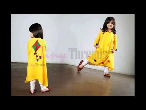 New Fashion Kids Winter wear Tiny Threads Dresses Collection