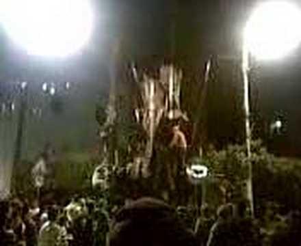 Amal and Hizballah Thugs attacking Hariri Pix in Basta