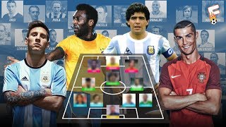 All Star Footballers Dream Teams For Each Era From 1930 - 2010 ⚽ Footchampion