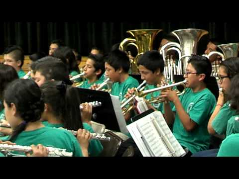 North park middle school band 2013