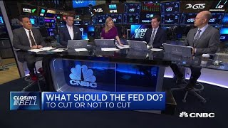 vuclip Two experts debate whether the Fed should cut rates next week