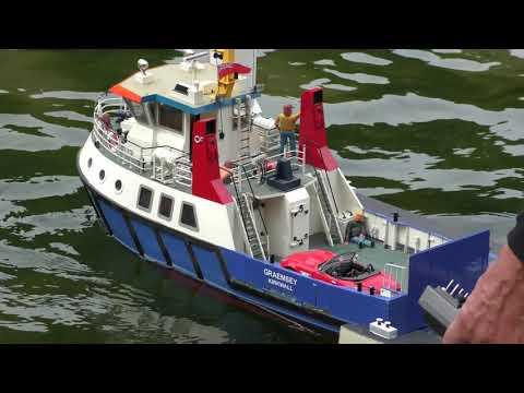 Model Boats At Kearsney Kapers 2019    PART ONE