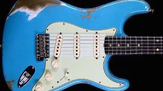 Bluesy Surf Rock Guitar Backing Track Jam in F# Minor