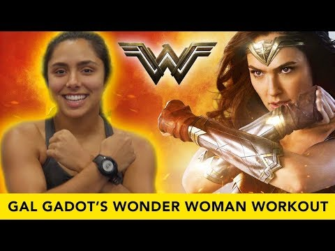 TRYING THE OFFICIAL WONDER WOMAN WORKOUT 🔥 (Justice League)