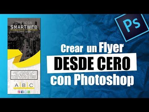 Como Hacer Un FLYER Publicitario En Photoshop | Descarga Gratis PSD