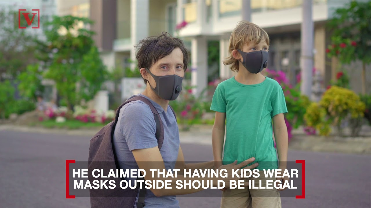Tucker Carlson compares kids wearing masks outside to child ...