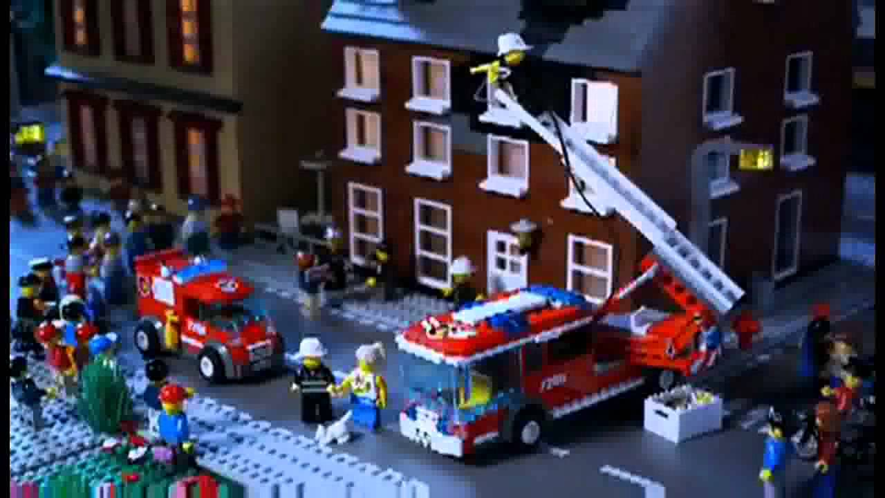 Off Road Fire Truck >> LEGO® City 2012 Forest Fire Commercial HD - YouTube