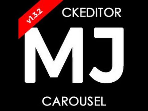 CKEditor MJ Carousel Plugin | Michael Janea