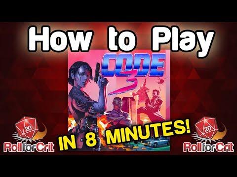 How to Play Code 3 | Kickstarter Game Tutorial thumbnail