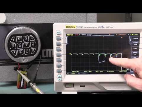 Video Clip Hay Eevblog 771 Electronic Safe Lock Powerline