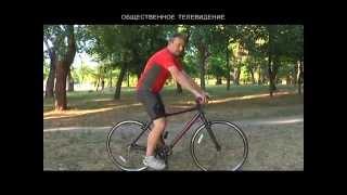 как правильно у велосипеда  отрегулировать сиденье по высоте совет ОТ МСМК