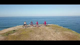 Cyclist & Ocean