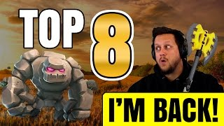I'M BACK! TOP 8 ATTACKS vs NORTH REMEMBERS - Clash of Clans