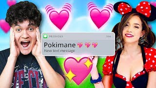 My Little Brother Reacts to His Crush (Pokimane & FaZe Jarvis)