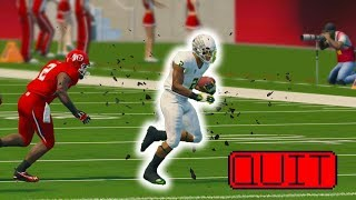 TIME FOR ME TO QUIT!! NCAA 14 ROAD TO GLORY EP  26