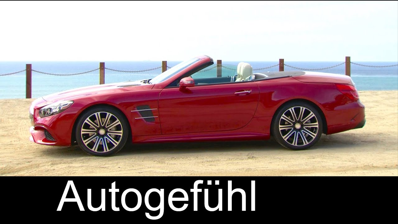 2017 New Mercedes SL 550 and 450 interior/exterior + sound performance - Autogefühl