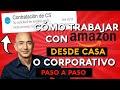 Cómo buscar trabajos en AMAZON para TRABAJAR DESDE CASA o Corporativo 👩💻💵 [PASO A PASO]