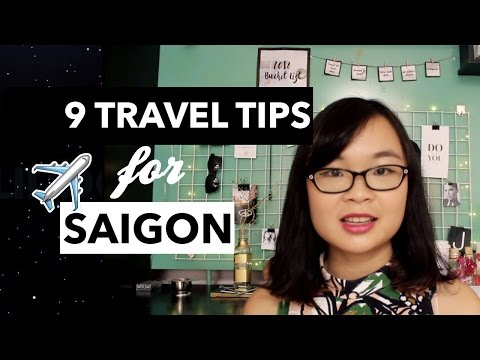 First video on my channel: 9 Travel Tips for Saigon (Ho Chi Minh City) | Joyce Le