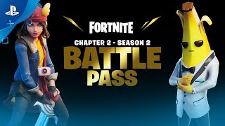 Fortnite - Chapter 2 Season 2 Battle Pass Trailer | PS4