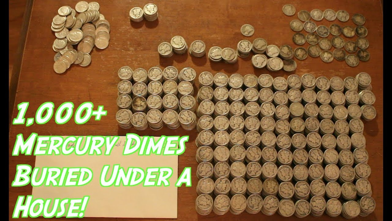 Epic Haul of Buried Constitutional Silver Coins! Part 3