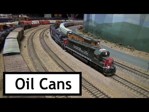 "Extreme Trains at the Colorado Model Railroad Museum – ""The Oil Cans"""