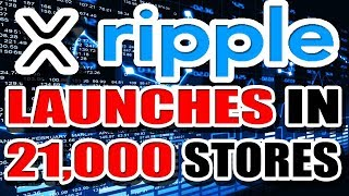 Ripple (XRP) Partners with Netcoins to bring XRP to 21,000 Retail Vendors! More adoption!