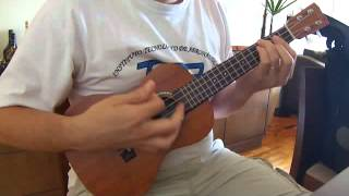 Blue Red and Grey - Ukulele