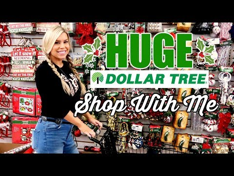 HUGE DOLLAR TREE SHOP WITH ME | NEW CHRISTMAS FINDS & MORE | CHIC ON THE CHEAP