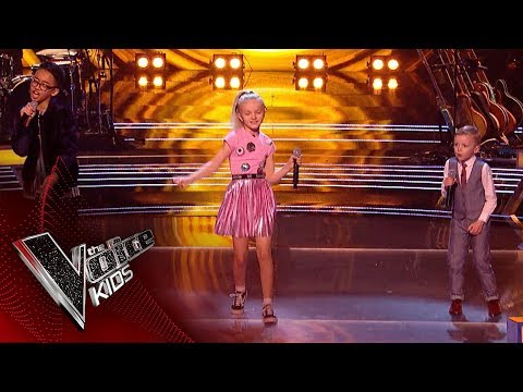 Shaney Lee Jimmy Rey and Lilia Perform ABC: Battles 1  The Voice Kids UK 2018