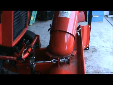Ingersoll Garden Tractor Sb48 Snowblower With Electric R L
