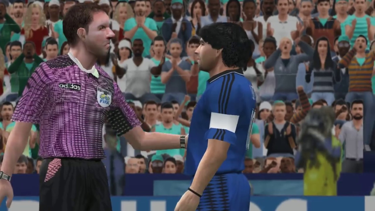 a92c35acfac Deluxe Series pes6 Argentina Vs Greece 1994 World Cup - YouTube