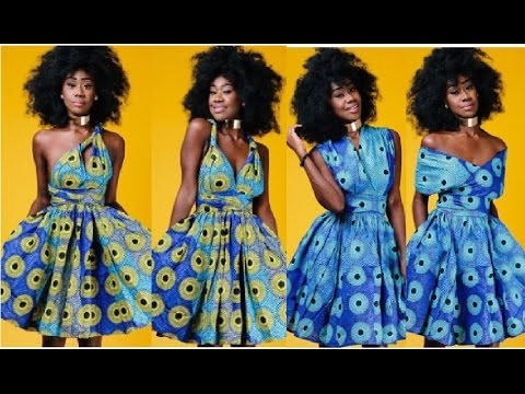f40d67749e73 How To Make A Ankara Infinity Wrap Dress I Special Announcement I Sewing  for beginners