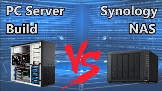 NAS Drive vs Budget Desktop PC Server Build