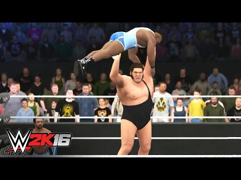 Andre the Giant vs. Big E: WWE 2K16 Fantasy Showdown