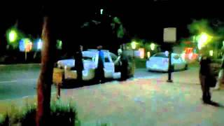 Bo Diddley Jr. Arrested @ Bo Diddley Plaza Occupy Gainesville Florida