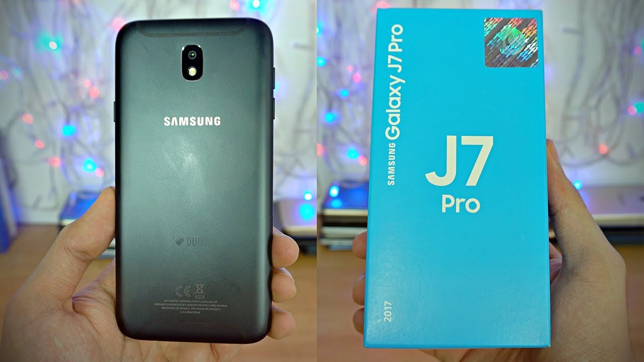 Samsung Galaxy J7 Pro (2017) - Unboxing & First Look! (4K) - YouTube