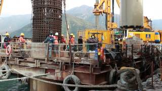 Foundation Works For Hong Kong-zhuhai-macao Bridge