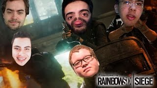 RAINBOW SIX SIEGE  - TEM QUE SER MUITO BURRO! Ft Drezzy, Stolen, Ludgero e Funky