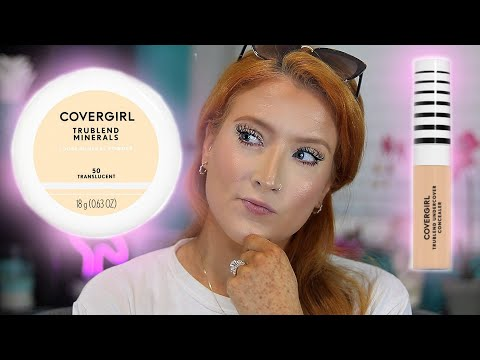 Covergirl Trublend Concealer & Loose Mineral Powder - First Impressions & Wear Test thumbnail