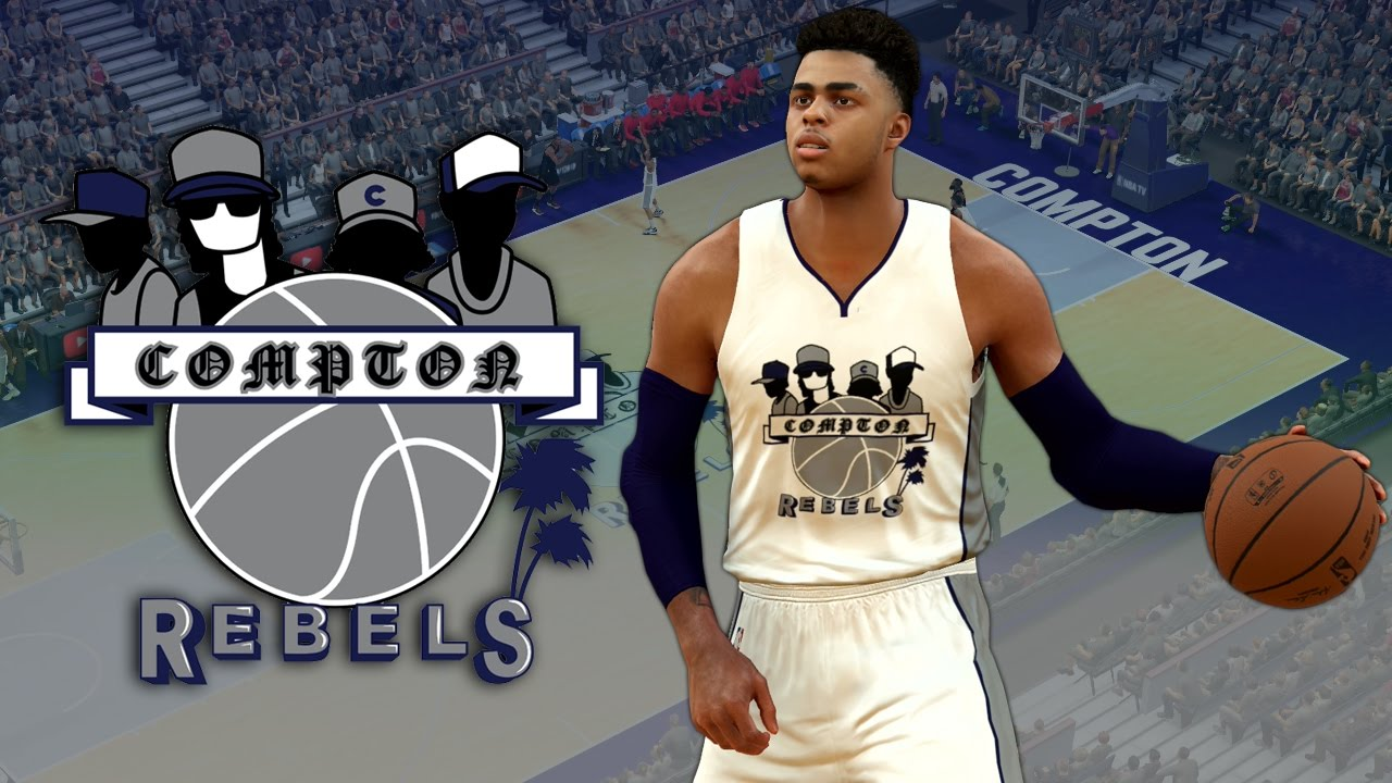 0c90376a6ab NBA 2K17 - Compton Rebels Jersey & Court Tutorial - YouTube