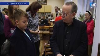 Юный корреспондент НТ Иван Галкин побывал на встрече с главным редактором журнала «Звезда»