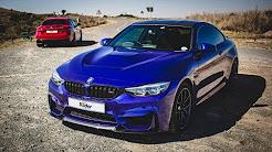 BMW M4 CS vs Alfa Romeo Giulia QV