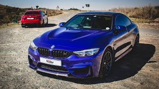 BMW M4 CS vs Alfa Romeo Giulia QV