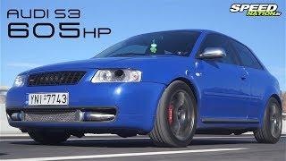 Audi S3 1.8lt 20v (605HP)