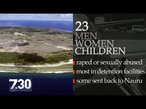 Disturbing content: Violence continues in off-shore detention network
