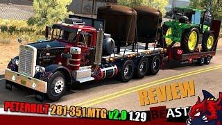 """[""""ATS"""", """"American Truck Simulator"""", """"truck mod Peterbilt 281-351 mTG v2.0 1.28 review""""]"""