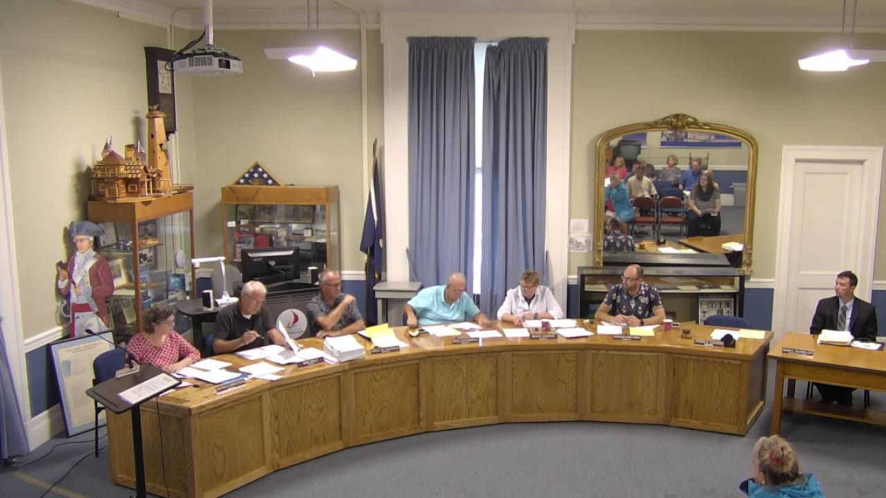 City of Plattsburgh, NY Common Council Meeting  9-8-16