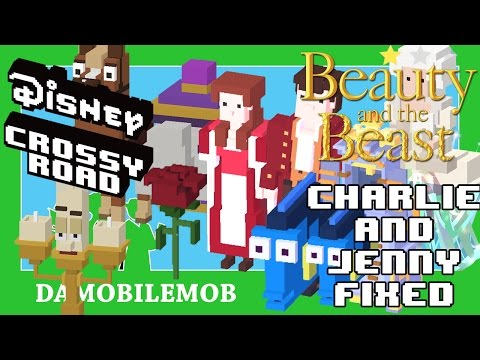 ★ Disney Crossy Road ALL SECRET CHARACTERS Unlocked | Beauty and the Beast Update