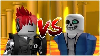 Markalov VS Sans | Undertale Roblox Animation