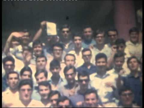 SENIOR CLASS OF 10th HIGH SCHOOL OF ATHENS, MARCH 1966